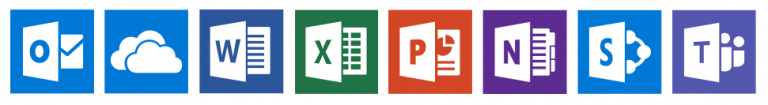 Office 365 logos